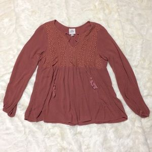 Knox Rose Long Sleeve Blouse